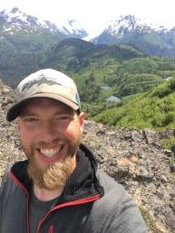 Derek Bynagle in the Mountains